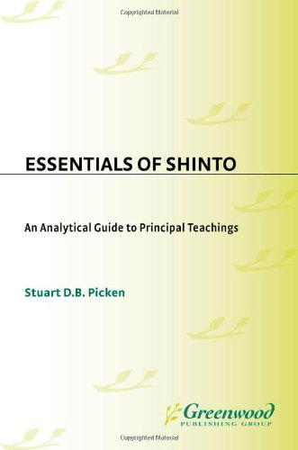 Essentials of Shinto: An Analytical Guide to Princ...