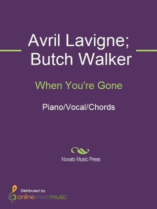When You're Gone Sheet Music (Piano/Vocal/Chords)