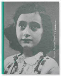 Anne Frank, dreaming, thinking, writing